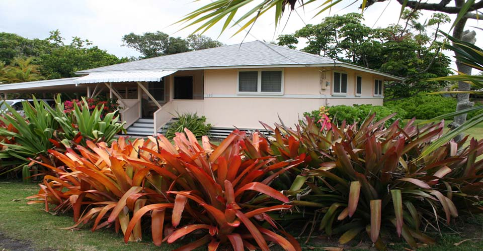 Tutu's Cottage only a short walk from Kailua Beach.